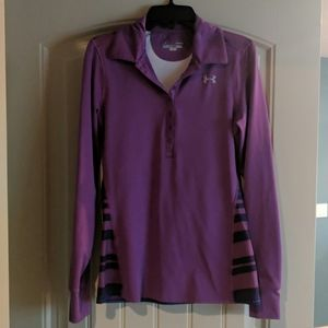 UA cold gear half button up long sleeve